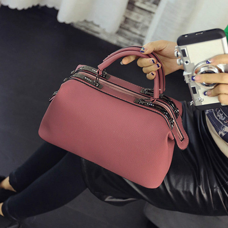 Women Fashion Casual Boston Handbags Women Evening Clutch Messenger Bag shoulder crossbody bags
