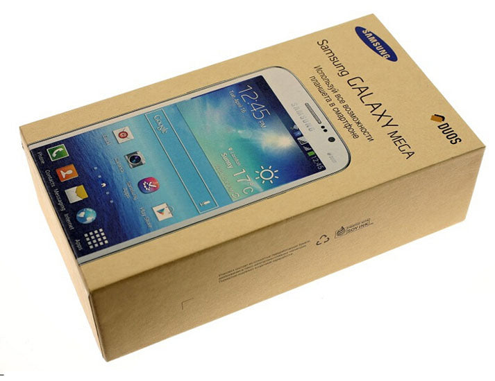 "Original Unlocked Samsung Galaxy Mega 5.8 I9152  Mobile Phone 1.5GB Ram 8GB Rom 5.8"" Touch Screen 8MP Camera Cell phone"