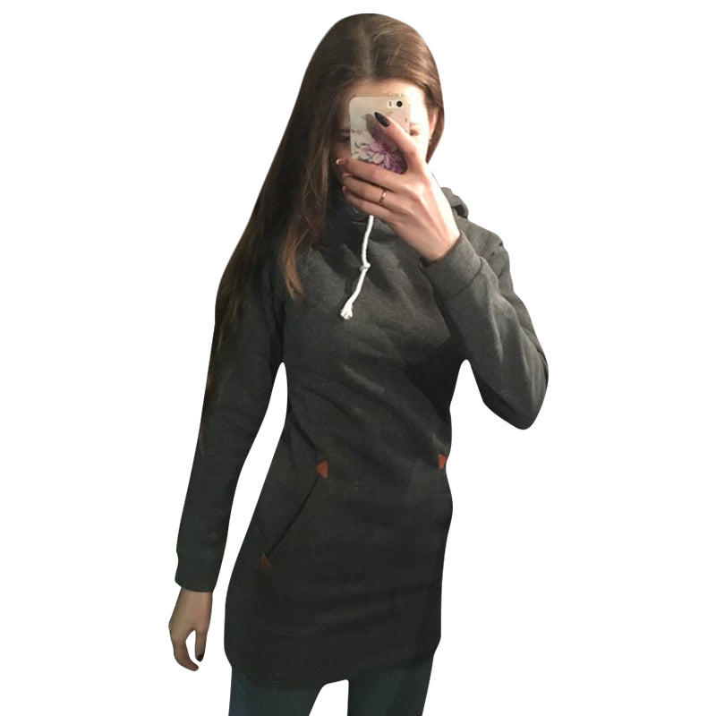 Women Fashion Hoodies Sweatshirt Long Sleeve Zip Sweatshirts Winter Moleton Pullovers Harajuku Hoodie