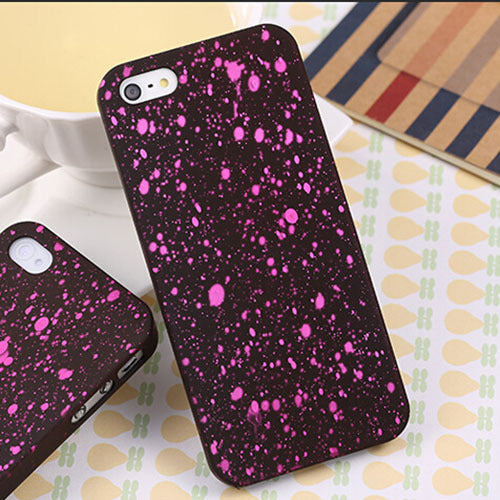 5 s 5S case New Style 3D Cover Three-dimensional Stars Ultra thin Frosted Starry Sky Phone Case for iPhone 5 5s SE Shell - Style Lavish