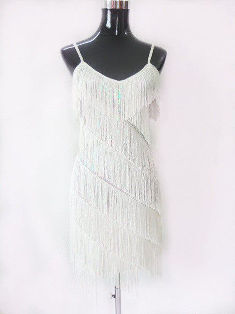 Woman  flapper fringe 1920s vintage great gatsby sequin party dress slip sexy summer dresses - Style Lavish