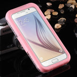 S6 Edge Swimming Waterproof Cases For Samsung Galaxy S6 5.1inch Phone Screen Diving Underwater Cover Shell for S7 S7 edge Case