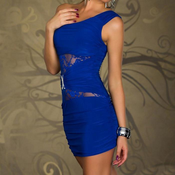 Summer European Style Wear Sexy Hollow-Out Dress