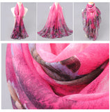 Woman Scarf Cotton Polyester Scarves Solid Warm Autumn Winter Scarf Shawl Printed