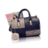 Fashion Patchwork Pillow Handbags Women Evening Clutch Purse Shoulder Bags - Style Lavish