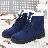 Women Warm Winter Shoes Ankle Boots - Style Lavish