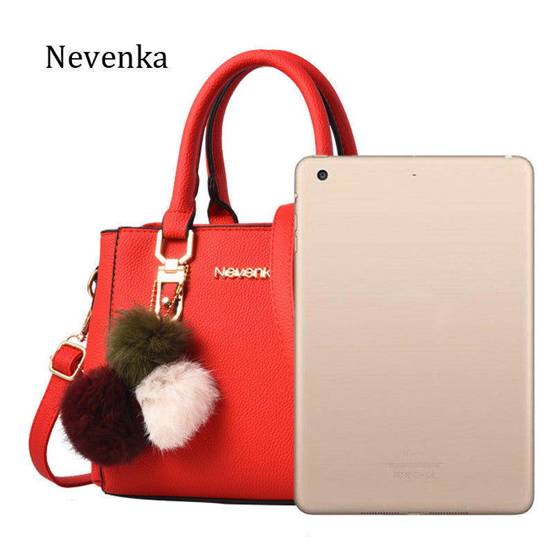 Women Bag Pu Leather Tote Handbag Lady Evening Messenger Bags - Style Lavish