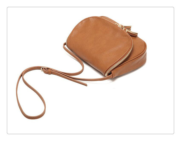51e655998790 ... Hot Sale Tassel Women Bag Leather Handbags Cross Body Shoulder Bags  Fashion Messenger Bag Women Handbag ...