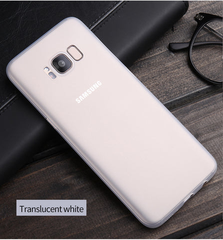 Original case For Samsung Galaxy S8 cases Micro Scrub Flexible Fashion Ultra thin PP cover for Samsung Galaxy S8 plus