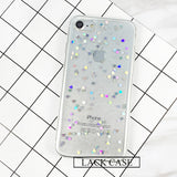 Fashion Bling Glitter Case For iphone 6 Case For iphone 6S 7 7 PLus Back Cover Luxury Love Heart Shining Powder Phone Cases