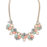 Fashion Design Chain Choker Statement Women  Necklace Bib Pendants Jewelry - Style Lavish