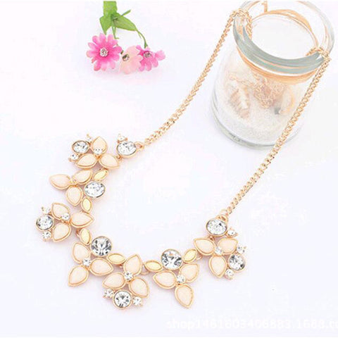 Fashion Design Chain Choker Statement Women  Necklace Bib Pendants Jewelry