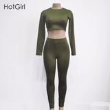 Women  Autumn Jumpsuit Overalls Long Sleeve Turtleneck Rompers Night Club Wear Bodycon Bodysuit Women Two Piece Jumpsuits