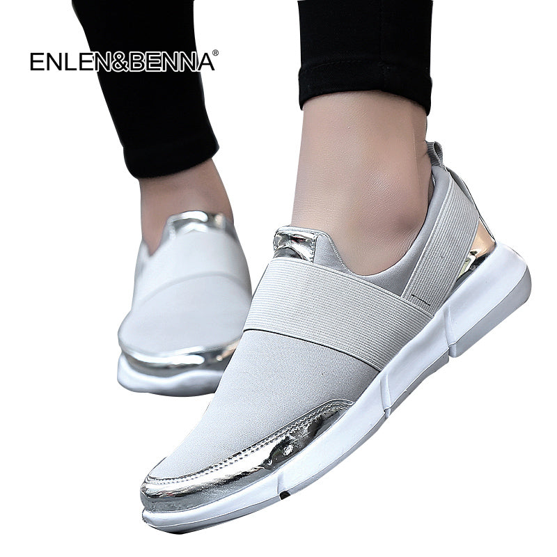 Mesh Breathable Flat Shoes