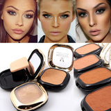Makeup Long Lasting Minerals Foundation Face Bronzer Contour Compact Powder Makeup