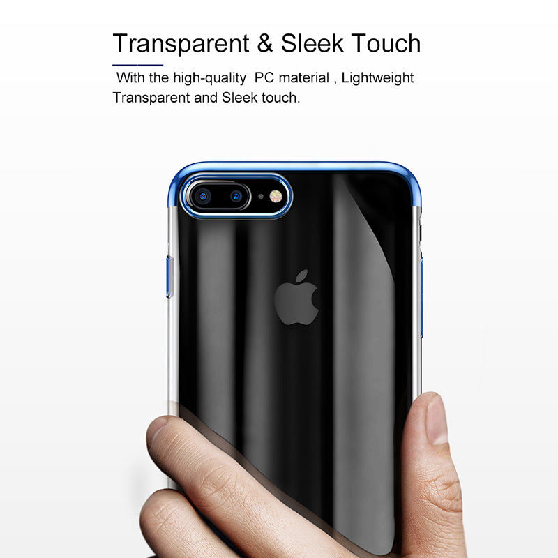 PC Hard Case For iPhone 7 Cover For iPhone 7 Plus Case Anti-scratch Electroplating Protective Phone Bag Shell Coque
