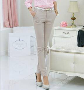 Women formal office work pencil pants ladies OL fashion trousers