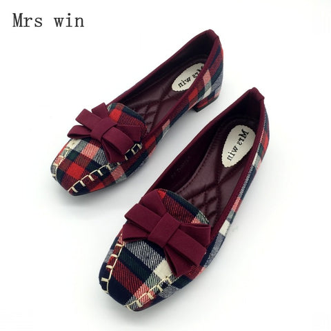 45616d40b9d5 ... Loafers Spring Autumn Square Toe Bowtie Slip On Flats Shoes.  73.99.   45.99. What s New! Women Sandals Shoe Genuine Leather Flat Shoes Fashion  Hand-sewn ...