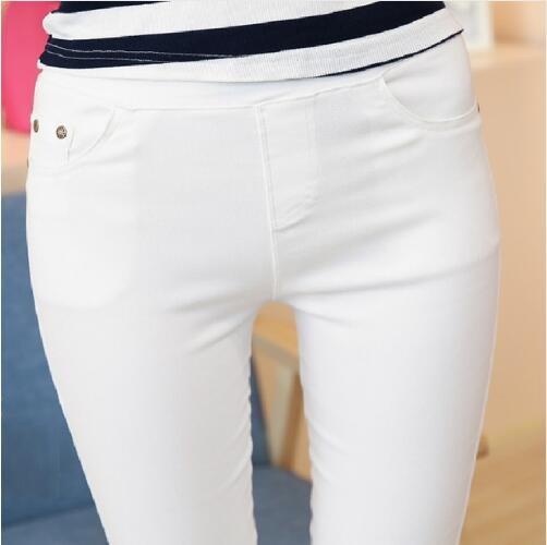 Women's Pencil Pants Casual Capris Bottoming Pants Brand Slim Trousers
