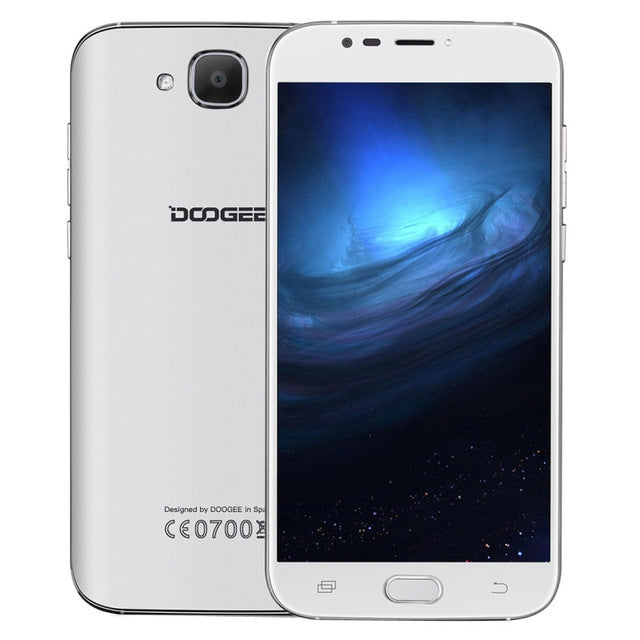 Original Doogee X9 Mini Android 6.0 Cell Phone 5.0 Inch MT6580 Quad Core Smartphone 1GB RAM 8GB ROM 2000mAh Unlock Mobile Phone
