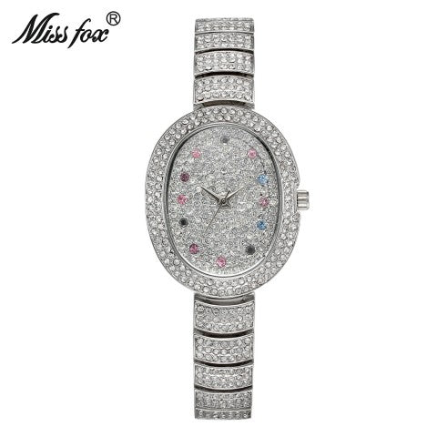 Women Fashion Quartz Watch Austria Crystal Minimalist Watches