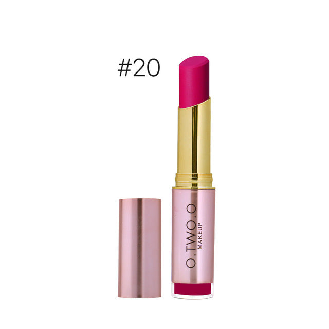 20 Colors Makeup Matte Lipstick Long Lasting Lip Gross Waterproof Matte Lipstick Cosmetics Women gift - Style Lavish