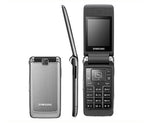S3600 Original Unlocked Samsung S3600 1.3MP Camera GSM 2G Russian Keyboard support Flip Cell Phone
