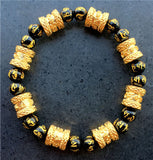 16pcs Barrel beads bracelets for men women - Style Lavish
