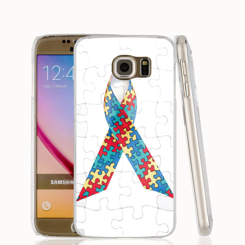 Autism Awareness Cover Case for iphone 4 4s 5 5s SE 5c 6 6s 7 Plus Samsung Galaxy S3 S4 S5 S6 S7 Mini EDGE Note 3