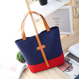 Women Hit Color Famous Brand Canvas Shoulder Clutch Luxury Designer Bags - Style Lavish