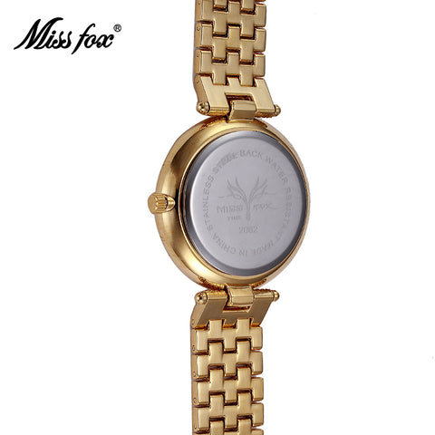 Women Watch Luxury Brand Fashion Casual Gold Watch Quartz Simple Clock