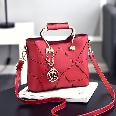 Woman Bag Sweet Fashion Woman Shoulder Bag Exquisite Pendant Decoration Woman Handbag Gift Small Gift