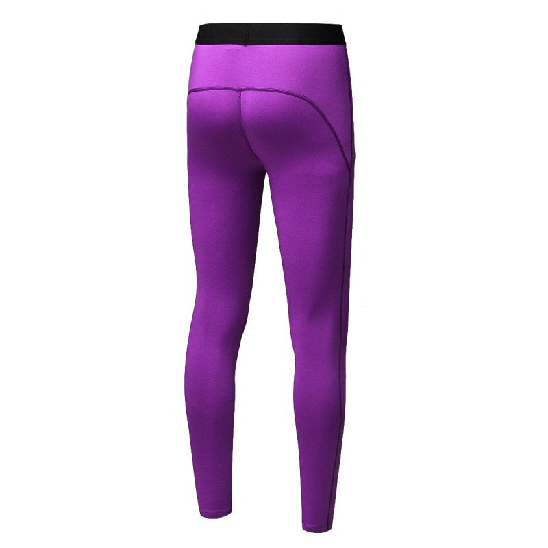 Quick-dry Women Skin Tight Compression Thermal Warm Long Pants S72