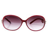 Oversized Polarized Women Luxury Brand Designer Plastic Frame Butterfly Sunglasses