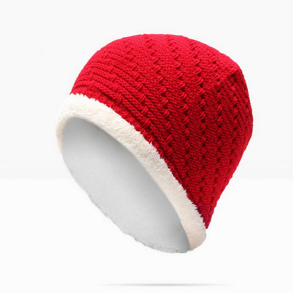 Men Women Beanies Winter Autumn Thickening Internal Plush Hedging Knitted Caps Bonnet Hat Warm