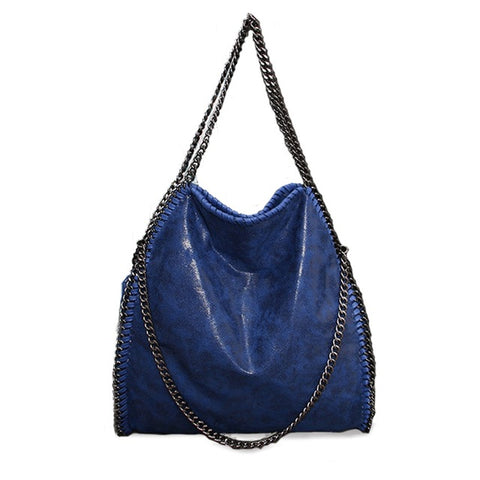 Women Crossbody Bags Fashion Large 3 chain  Shoulder Bags Portable Chain Woven star handbags