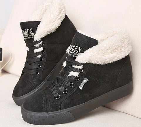 Fashion Warm Ankle Boots Women Boots Snow Boots Autumn Winter Shoes