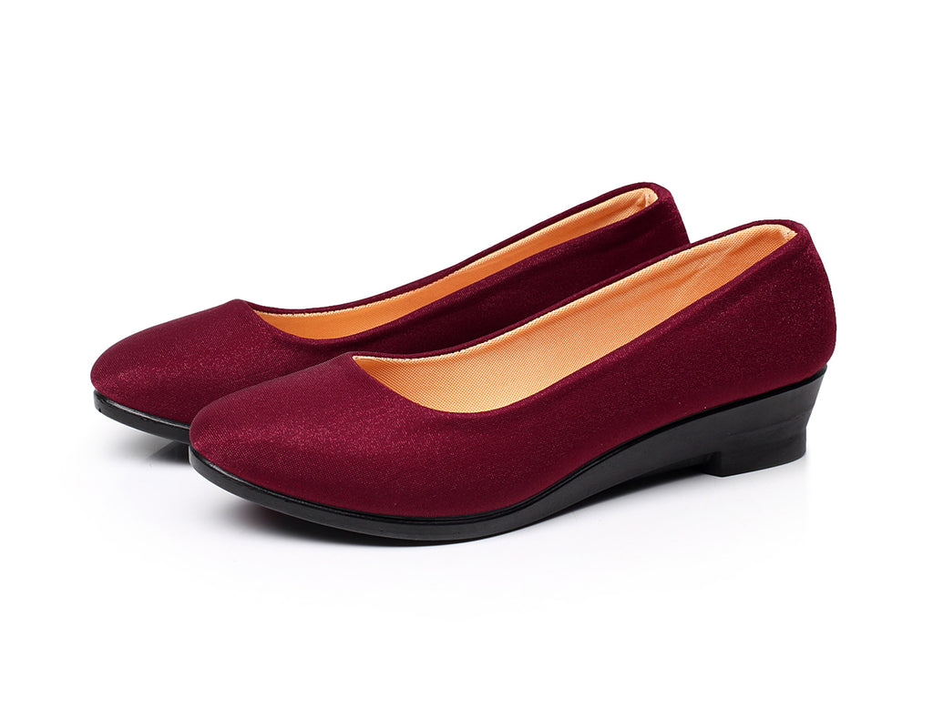 Women Wedges Shoes Sweet Loafers Slip On Shoes
