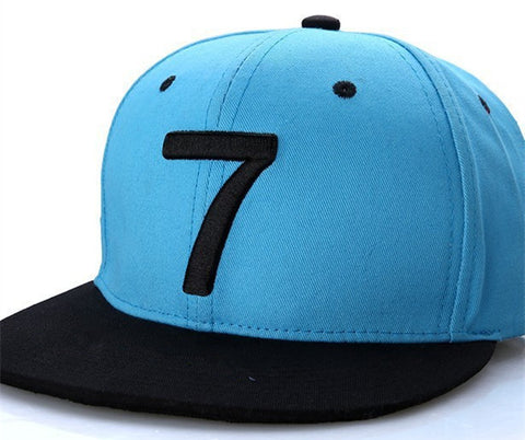 2 Colors  Cristiano Ronaldo CR7 Black Blue Baseball Caps hip hop Sports Snapback Football hat Men women - Style Lavish
