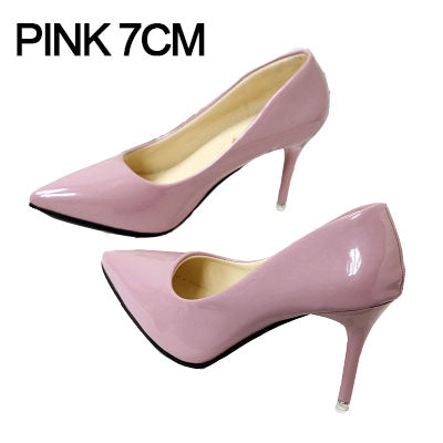 Women Pumps Spring Autumn Pointed High Heels Shoes