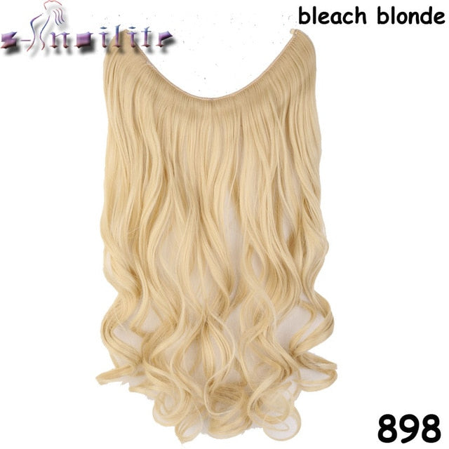 20 Inches Invisible Wire No Clips In Hair Extensions Secret Fish Line