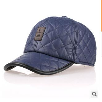 Baseball Cap Men Women  Autumn Winter Fashion Caps Waterproof Fabric Hats Thick Warm Earmuffs Baseball Cap - Style Lavish