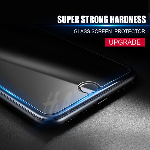 2.5D 0.26mm 9H Premium Tempered Glass for iphone 7 6 6s plus Screen Protector for iphone 6 7 6s 5 5s 4 protective glass