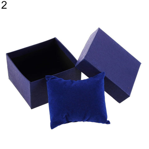 Red Watch Box Cardboard Present Gift Box Rectangle High-Grade Quartz Watches Packing Box Jewelry Box Christmas Gift