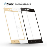 2pcs/lot HD Colorfull Full Cover Tempered Glass For Xiaomi Redmi 4 Pro Prime 4A 4X 3X 3S Screen Protector For Redmi Note 3 4 4x - Style Lavish