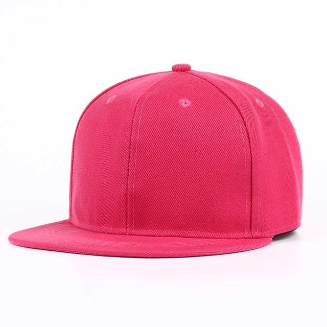 Summer Light Board Baseball Cap Men Women Flat Brim Snapback Cap Hip Hop Boy Cap Hat Solid DIY Unisex Adjustable