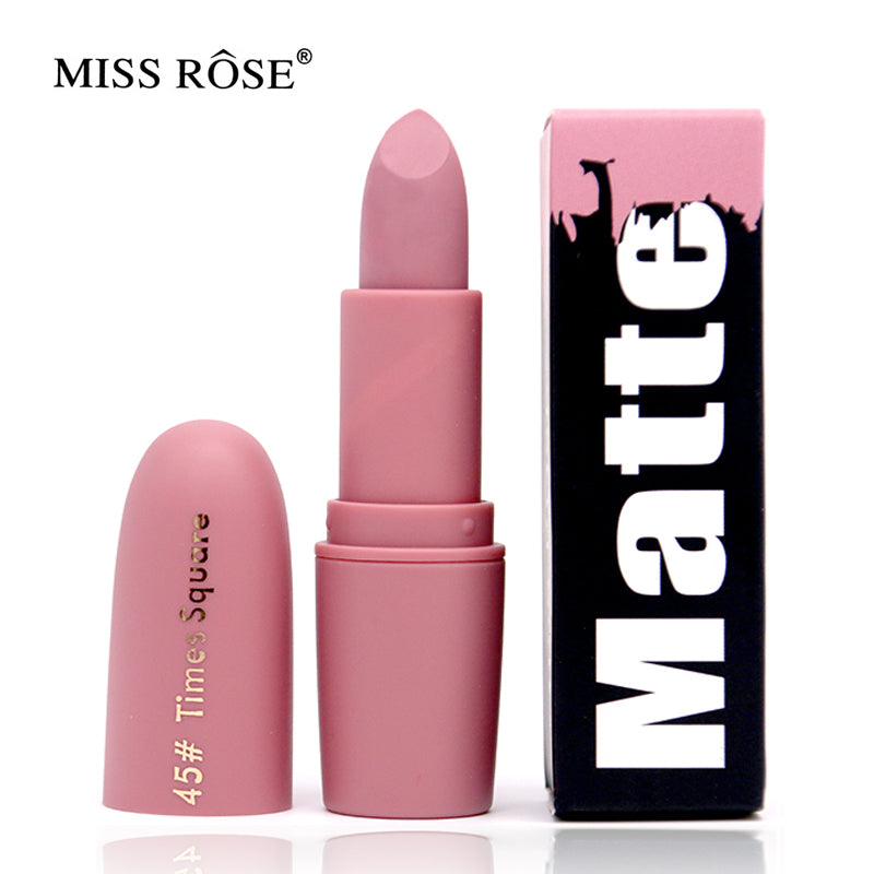 Women Beauty Matte Moisturizing Lipstick Waterproof Lip gloss Mate Lipsticks Cosmetic