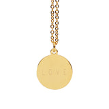 Personalized Engrave Custom Name Necklace Gold Color Circle Bar Necklaces Pendants Women Choker Necklace Jewelry