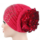 Candy Colors Women Headwear Lace Hot Drilling Headwrap African Head wrap Twist Hair Band Turban Bandana Hijab Accessories - Style Lavish