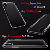 Indie Pop Soft Super Thin TPU Case  For iPhone 4 4s 5 5s SE 6 6s 6+ 7 7+ Ultra Thin Transparent Silicone TPU Phone Cases